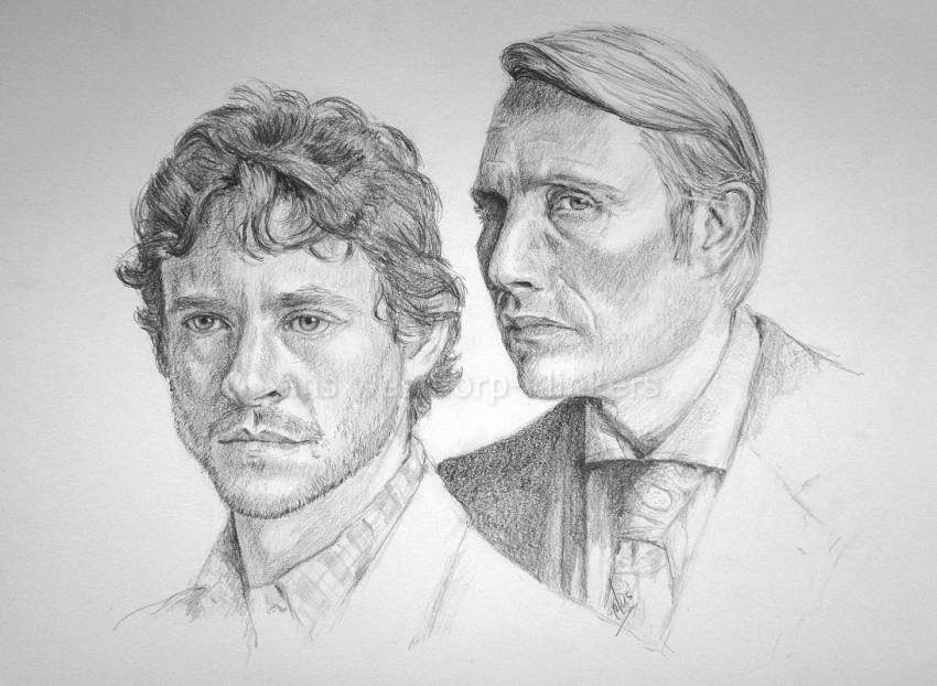 Mads Mikkelsen, Hugh Dancy by Ans66